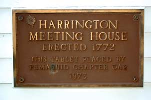 Harrington Meetinghouse