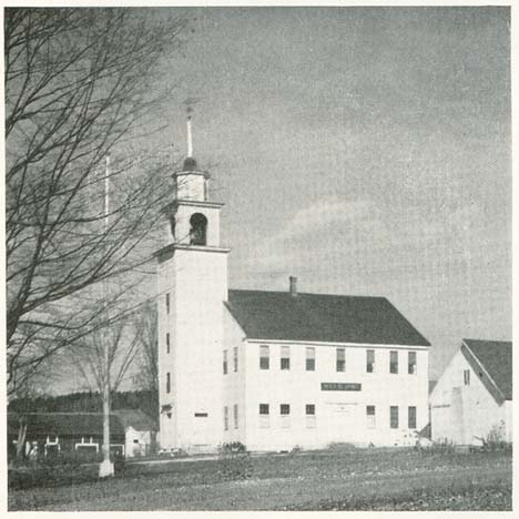 Lempster Meetinghouse in the 1930s