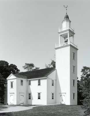 Colonial Meetinghouses Of New England